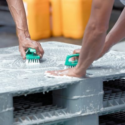 Cleaning Plastic Pallets